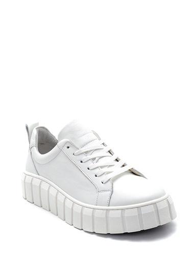 Derimod Kadın Ayakkabı(2350) Casual Beyaz